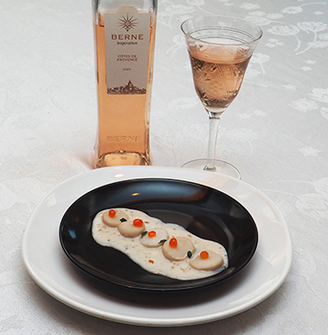 Luxury Experience - Rose Poached Scallops