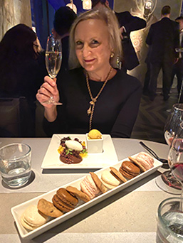 Debra C. Argen - Kosher Wine Dinner - The Fulton NYC - photo by Luxury Experience