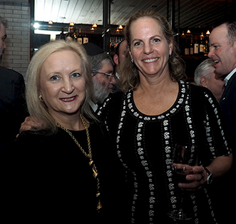 Baroness Ariane de Rothschild, Debra C. Argen - Kosher Wine Dinner - The Fulton NYC - photo by Luxury Experience