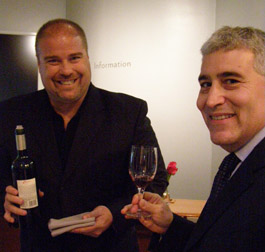 Edward F. Nesta enjoying a Mablec Wine at Malbec World Day in New York - Photo by Luxury Experience