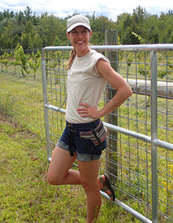 Ray Conner - Mermaid Hill Vineyard - Concord, NH - photo by Luxury Experience