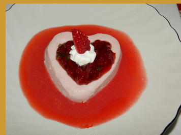 Luxury Experience Strawberry Prosecco Mousse  - photo by Luxury Experience