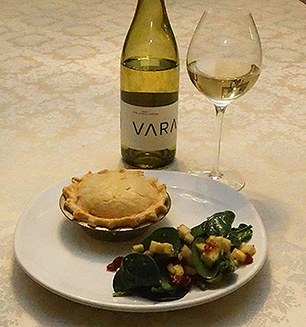 Luxury Experience - New England Seafood Pie - photo by Luxury Experience